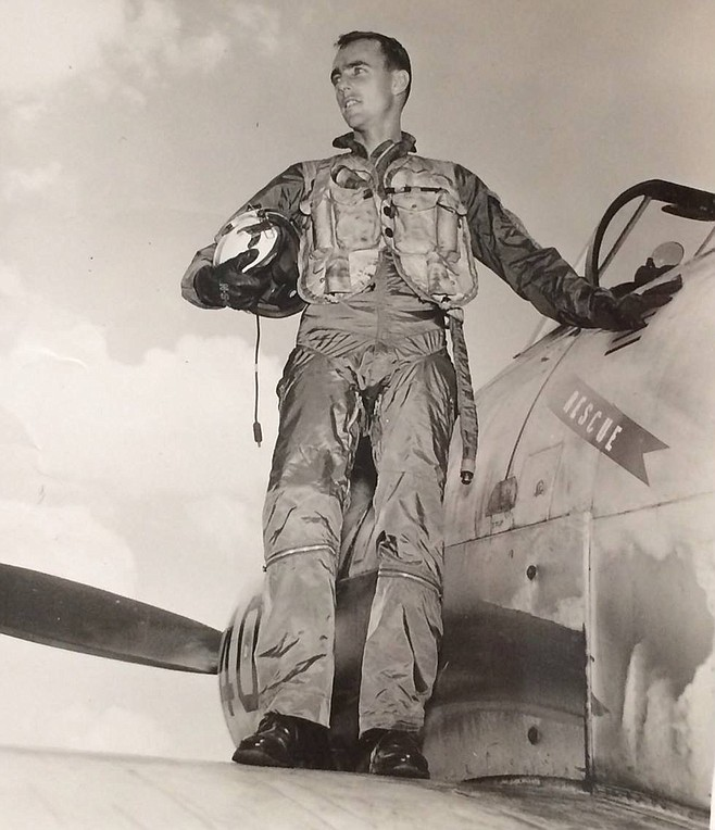 Lieutenant Commander Frederick Peter Crosby was two weeks shy of his 32nd birthday when his RF-8A fighter jet was struck down by heavy gunfire a few miles northeast from the city of Thanh Hóa on June 1, 1965.