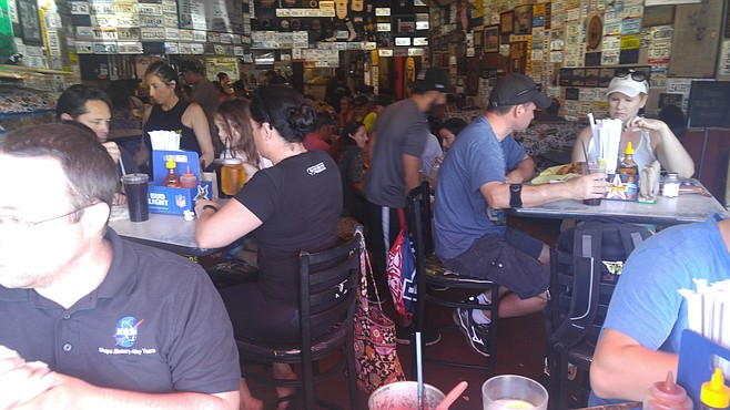 """Hodads interior. """"We have service animals in here all the time."""""""