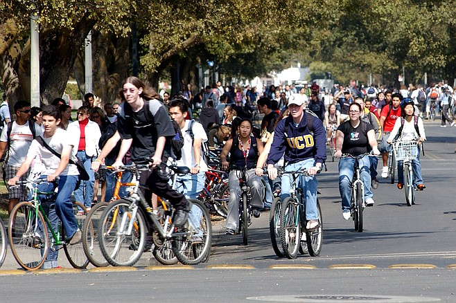 Davis became the first city to reduce bike fines after finding that officers were slow to ticket bicyclists due to public anger over the steep costs.