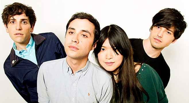 The Pains of Being Pure at Heart play the final date of their U.S. tour at UCSD's Loft