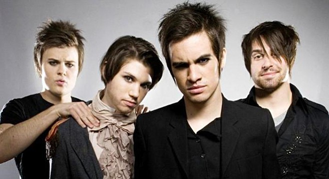 Panic at the Disco can relax — they are welcome on 91X.