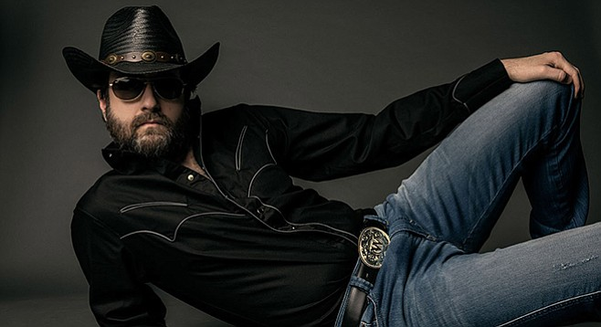 If this photo is any indication, Wheeler Walker Jr. will take it super easy at House of Blues on August 4