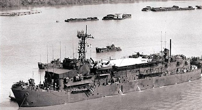 The Benewah was the first ship I had been on since coming to active duty.