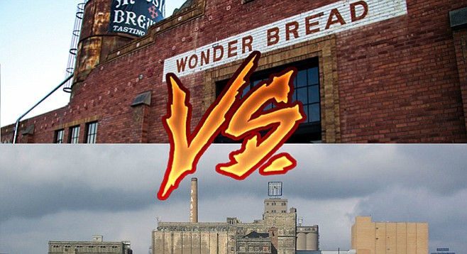 Mission Brewery, San Diego (above)—Old Pabst Brewery, Milwaukee (below)