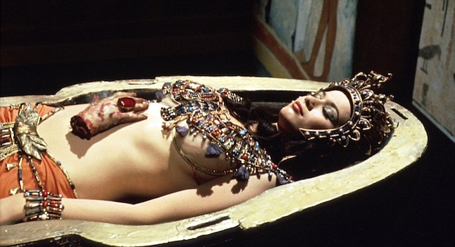 With Valerie Leon in the lead, they might as well have called Part 4 Cleavage from the Mummy's Tomb.