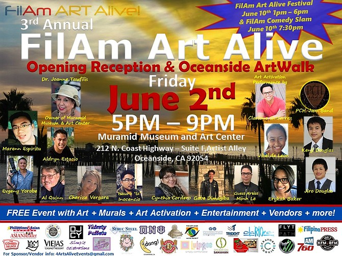 FilAm Art Alive Opening Reception