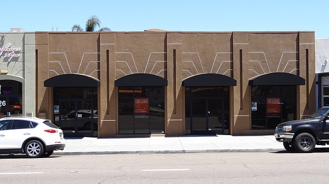 The former spot of Fido & Co., which relocated to North Park.