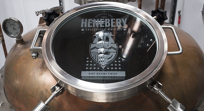 After producing whiskey in LA for years, San Diego's Henebery brand now has a still of its own.