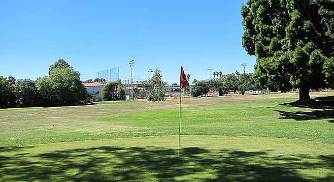 Marston's family gave the golf course to the city. Some say that if it doesn't remain a golf course, it must be returned to the Marston family.