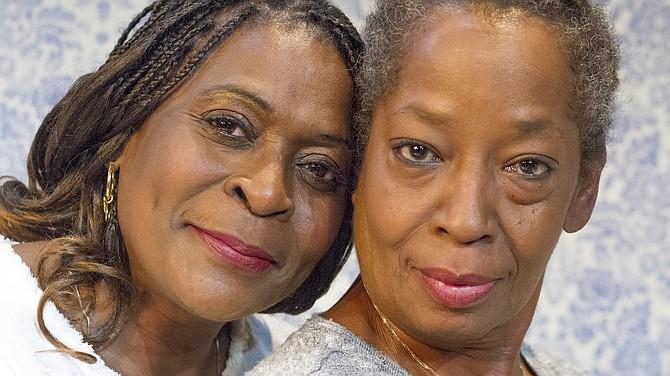 Sylvia M'Lafi Thompson (as Bessie) and Milena (Sellers) Phillips (as Sadie)