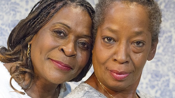 Sylvia M'Lafi Thompson (as Bessie) and Milena (Sellers) Phillips (as Sadie)
