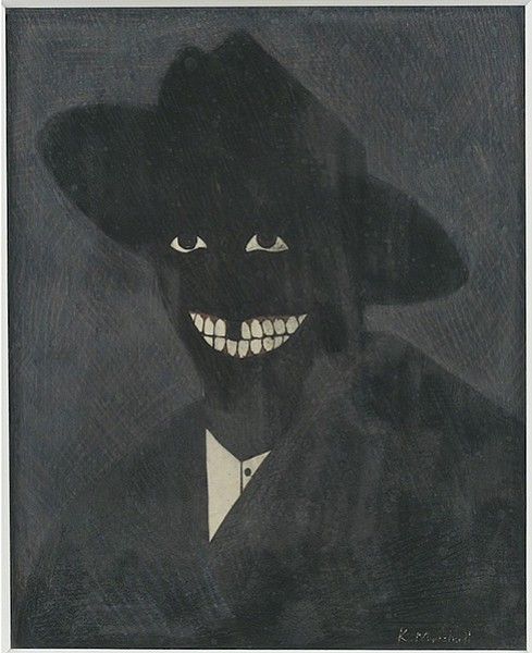 A Portrait of the Artist as a Shadow of His Former Self, by Kerry James Marshall