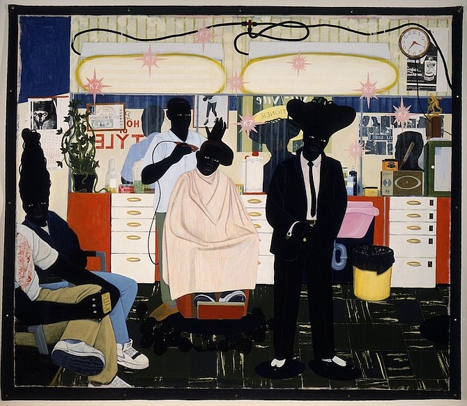 De Style, 1993, by Kerry James Marshall