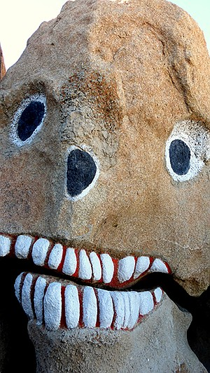 Boulder Park monster