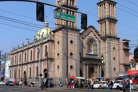 Tijuana's current Nuestra Señora de Guadalupe, located downtown