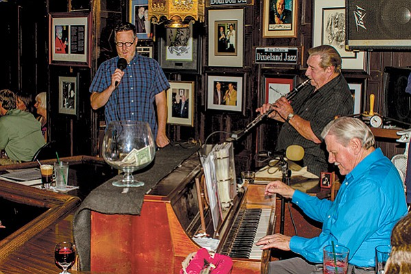 """Paul Gregg at the Red Fox: """"If they start to get out of line, using foul language, maybe trying to impress their buddies, I cut 'em off."""""""