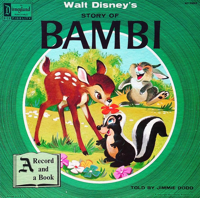 See the movie, listen to the story as told by Jimmie Dodd. Disneyland Records, 1957.