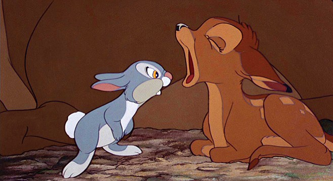 Scott Marks interviews the voices of Thumper and Bambi in time for the Disney classic's 75th anniversary.