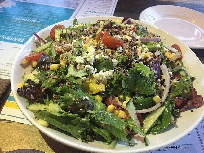 The House Salad will make you feel better