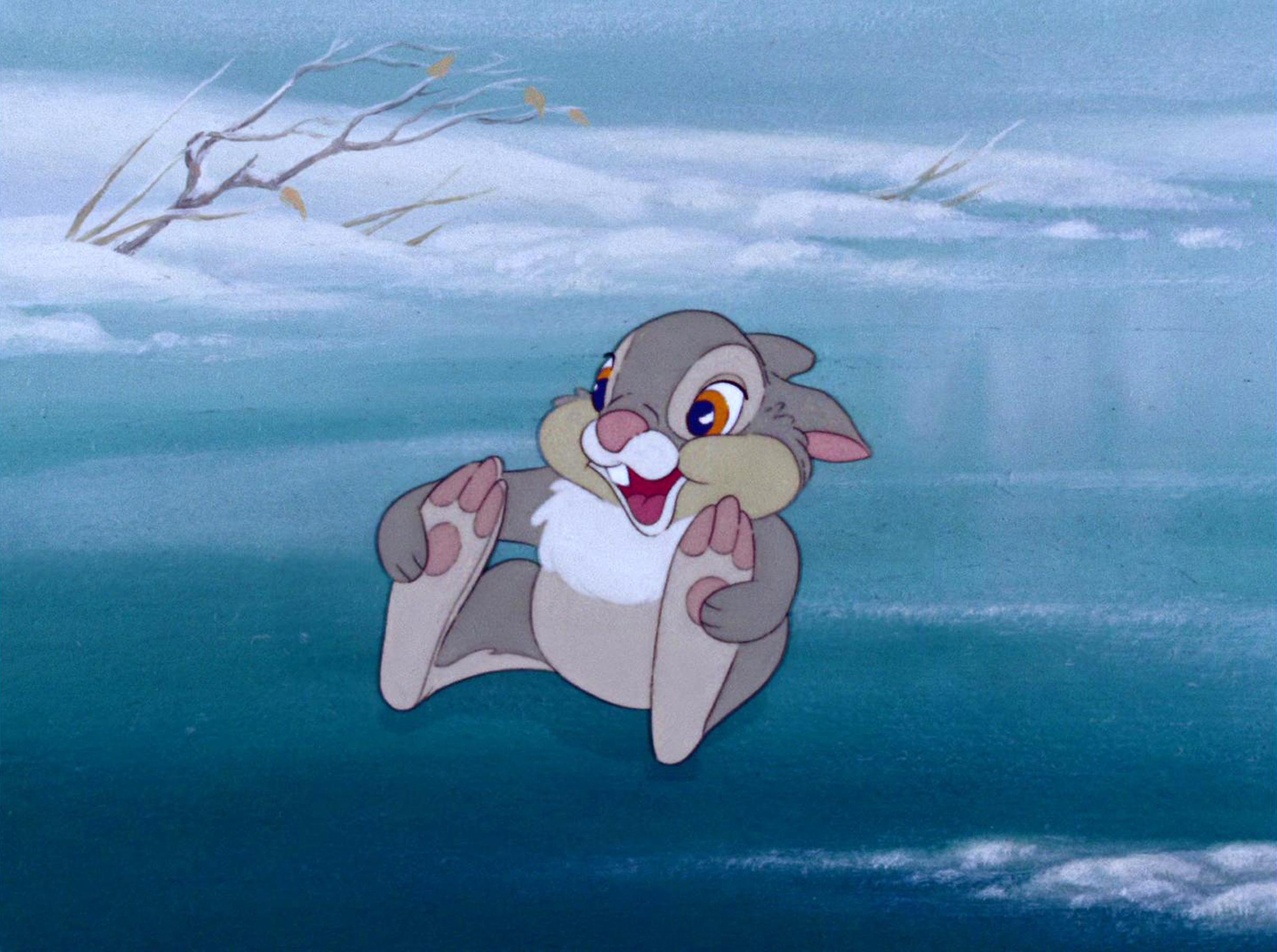 Thumper on ice.
