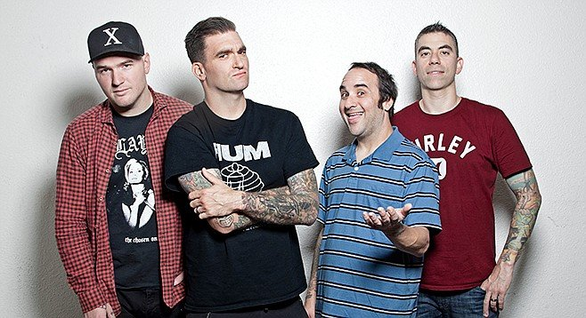 New Found Glory: two nights, two albums each night at House of Blues