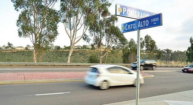 What caused the accident? Marijuana-impaired driver or the median?  - Image by Chris Woo