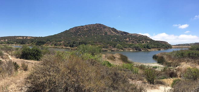 Lake Calavera. Residents who use the reserve's trails to walk a dog or go for a jog may be shut out or issued a citation.