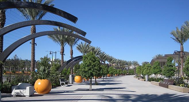Civita Park's Celebration Plaza