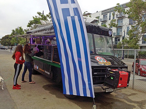 The Groovy Greek food truck
