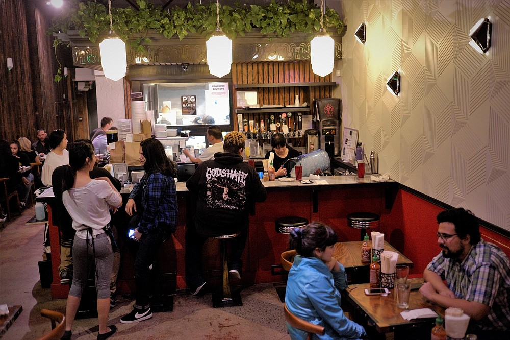 Tajima North Park is the newest addition to this ramen-house chain.