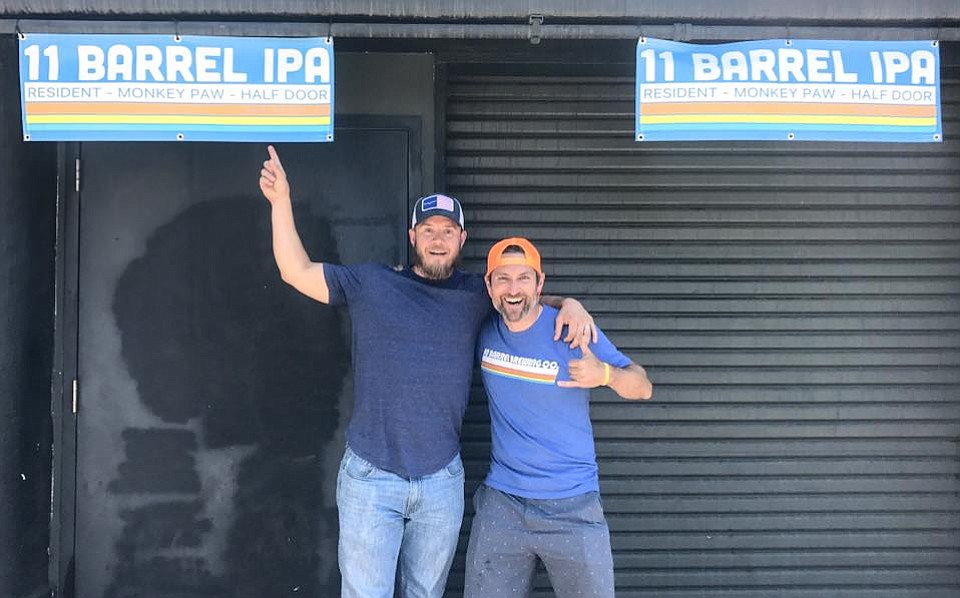 10 Barrel cofounder Garrett Wales points out 11 Barrel IPA's mimicry of his company's brand.