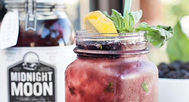 Farmer's Table Blackberry Basil Lemonade