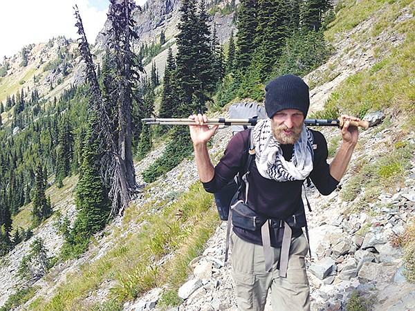Patrick Seibt — trail name Texaspoo — hikes the Pacific Crest Trail. He's also completed the Appalachian 