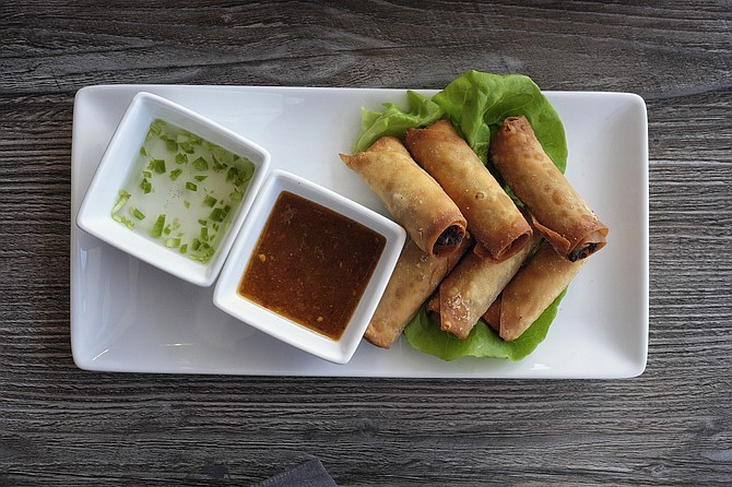 Happy hour lumpia plates go for $3 and are worth every penny.