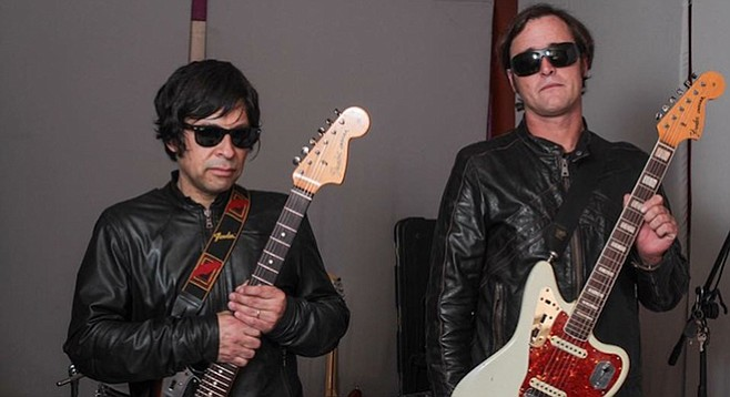 Raul Gonzales, Adam Hall, and their Fender Jags