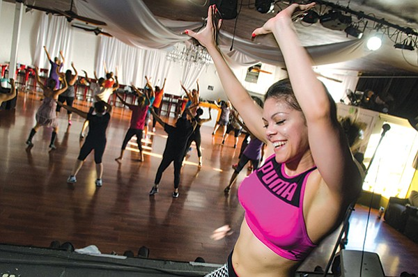 Rosie Velez's infectious enthusiasm and easy-to-follow instruction guarantee fun while burning up to 800 calories.