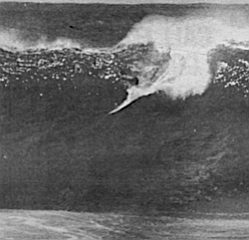 """Curren at Waimea Bay. """"Curren's wave is was the one they all remembered..."""""""
