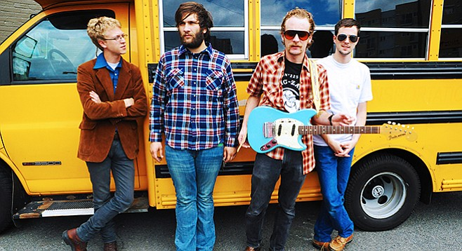 Deer Tick is inviting standup comedians to open all dates on this tour