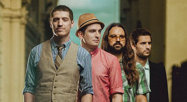 Mutemath: archaic old synths, vintage guitars, ancient amps, and even the occasional harmonium or keytar solo