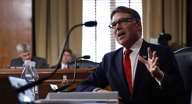 Rick Perry: San Onofre conditions could lead to a disaster comparable to 2011's Fukushima-Daiichi nuclear meltdown in Japan.