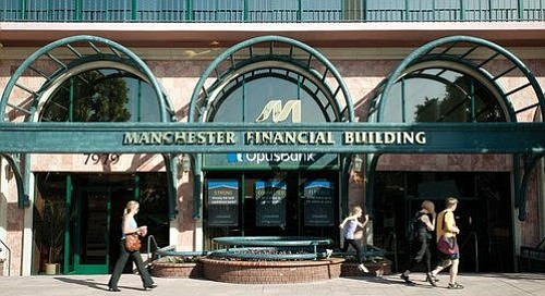 Manchester Financial in La Jolla. Judge ruled that the developer's Manchester Financial Group, Inc. can't be held liable for the $466,310-plus judgement.