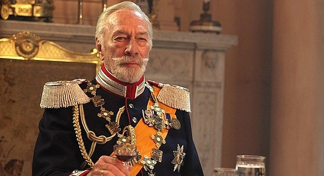 Christopher Plummer stars as Kaiser Wilhelm II in  David Leveaux's The Exception.