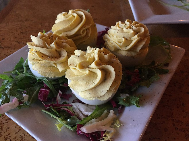 Not your typical deviled eggs, these are made with sweet Indian spices