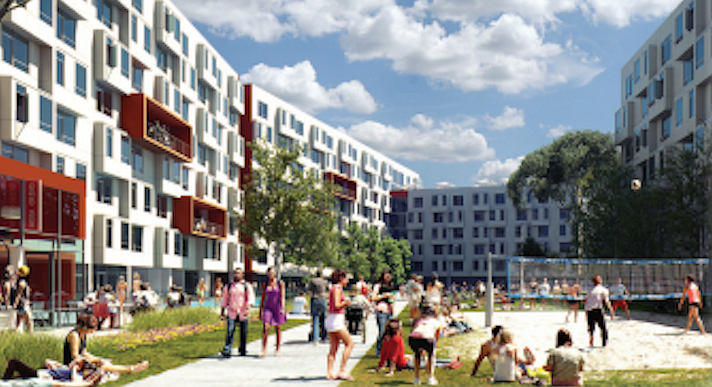 Mesa Nueva housing slated for graduate students, with 1,350 beds, is expected to be finished by July 2017.