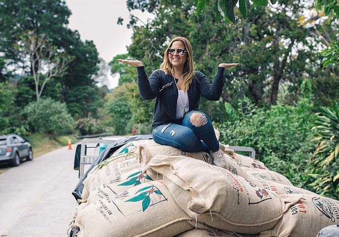 Anny Ruth Pimentel's coffee farm Loma La Gloria has been making a name among San Diego roasters. - Image by Beau Austin @soundcoffee
