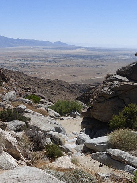 View of Borrego Valley from Big Spring