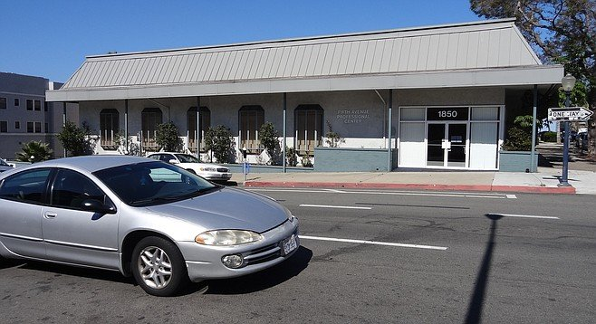 CVS will remodel this empty building at 1850 Fifth Avenue in Bankers Hill.