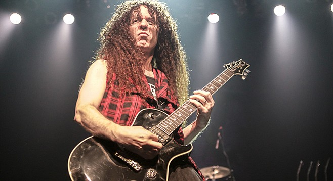 Marty Friedman — quit Megadeath in 1999
