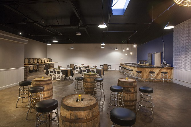 The Barrel Room at New English, debuting to the public July 8th.