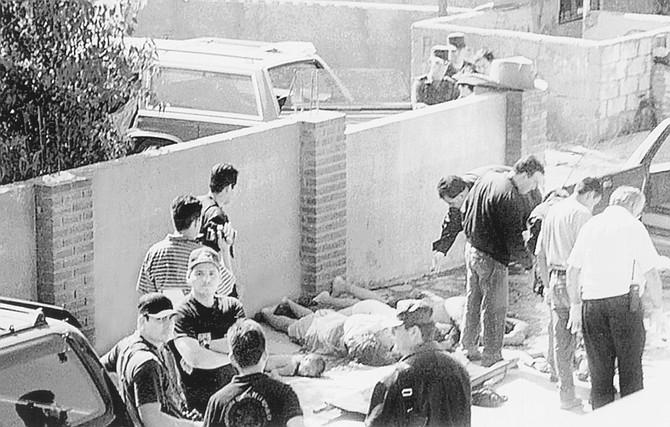 Site of the September 1998 Ensenada shooting